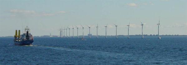 Les éoliennes offshore